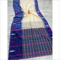 Ladies Designer Handloom Cotton Silk Saree