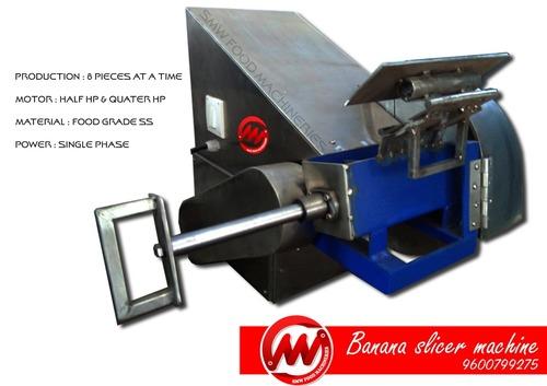 Banana chips machine