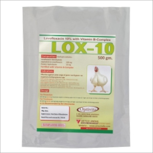 Levofloxacin 10 Percent Fortified With Vitamin B-Complex