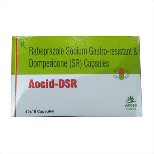Rabeprazole Sodium (GR) and Domperidone (SR) Capsules