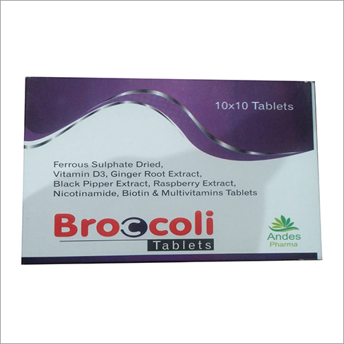 Ferrous Sulphate Dried Vitamin D3 Ginger Root Extract Biotin And Multivitamin Tablets