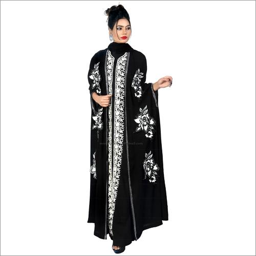 Ladies Designer Abayas on Nida Fabric