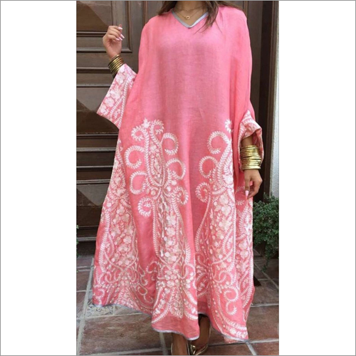 Ladies Linen Exclusive Kaftan