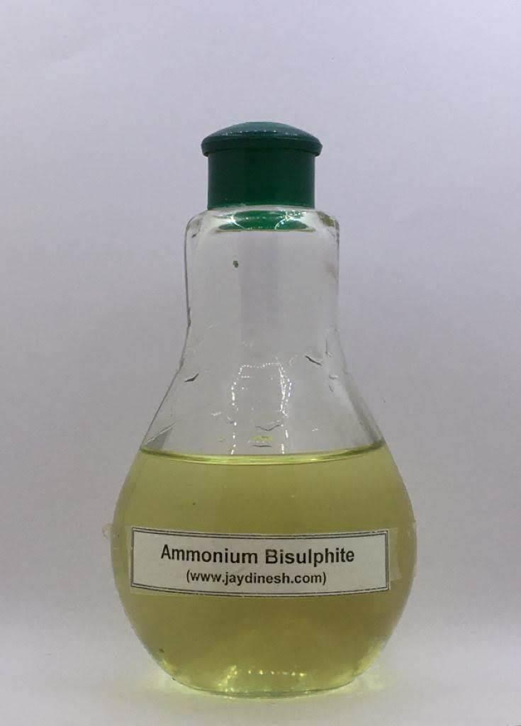 Food Grade Ammonium Bisulphite
