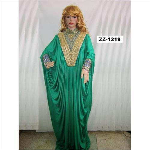 Ladies Farashas on Jorjet and Silk Kaftans
