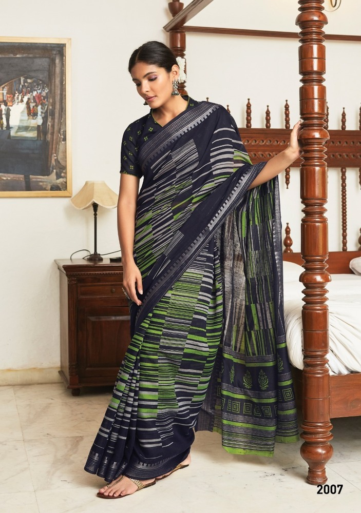 Casual Wear Cotton Silk Saree