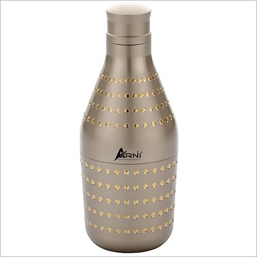 Silver Brass Bottle