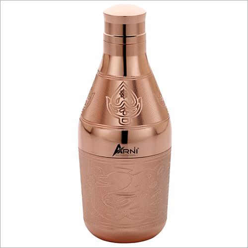 Carving Brass Bottle