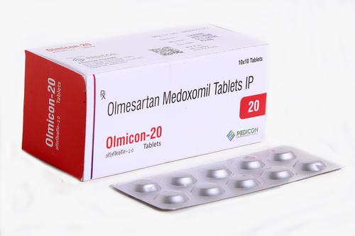 Olmesartan Medoxomil 20mg Tab