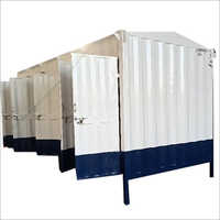 MS Portable Toilets Cabin