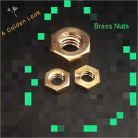 Hexagon Brass Nuts