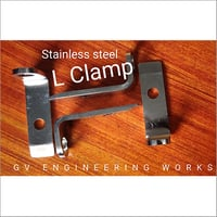 Stainless Steel L Clamp