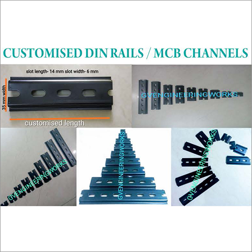 Customised Din Rails and MCB Channels