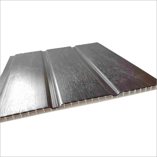 2.6 KG Three Groove Wood Grain PVC Wall Panel