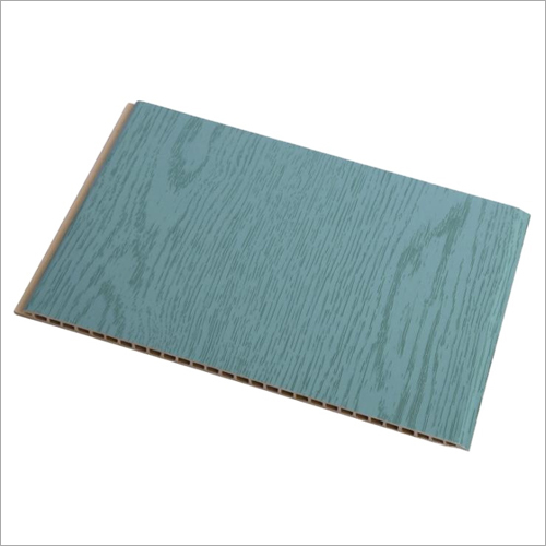 3D Oak Color WPC Wall Cladding Panel
