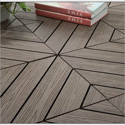 Waterproof Anti Slip Environmental House Decking Tile