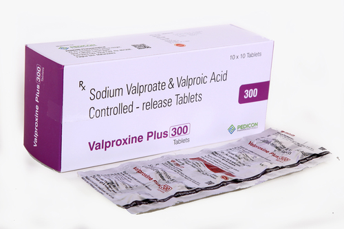 Sodium Valproate 200mg+valproic Acide 87 Mg