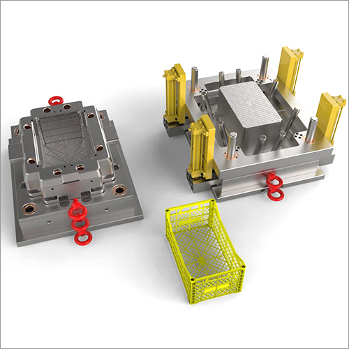 Plastic Fruit Crate Injection Molds