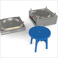 Plastic Round Desk Injection Molds