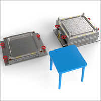 Plastic Square Desk Injection Molds