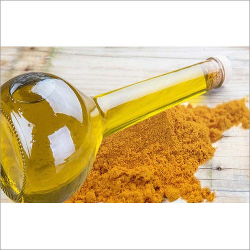 Organic Turmeric Oil And Extract