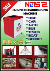 Oxy Hydro Auto Carbon Cleaning Machine