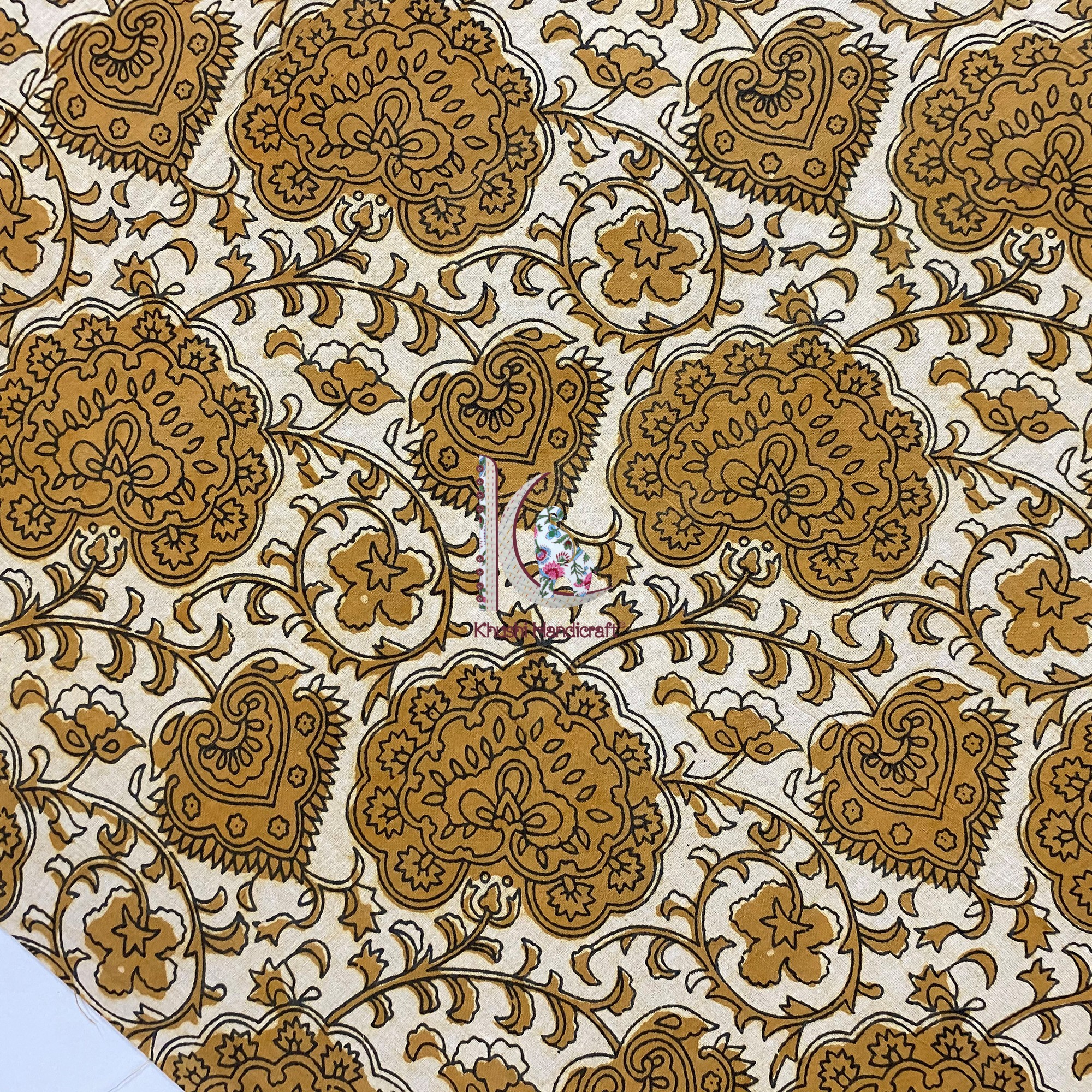 Traditional Wear Cotton Fabric For New Designed Kurtis