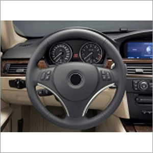 Steering Wheel Cover Leather Fabric