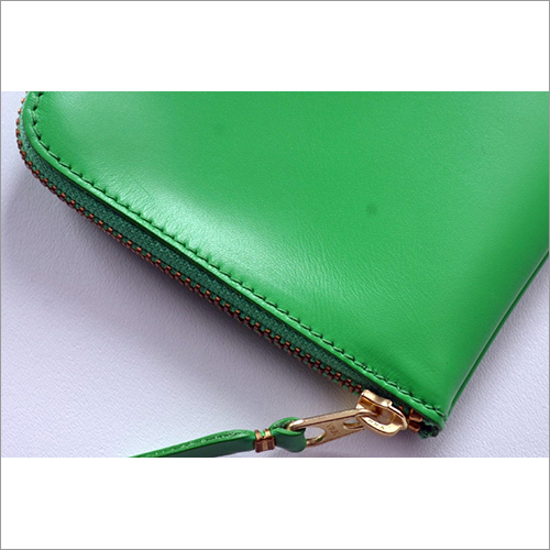 Synthetic Leather Clutch Purse