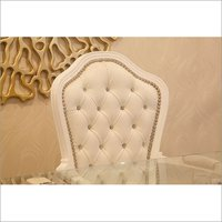 Chair Leather Textured Fabric