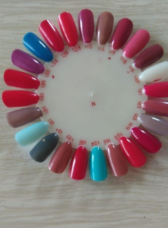 Round Bottle Nail Paint - 6ml