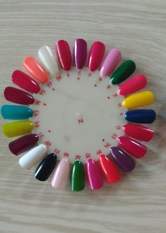Frosted Matte Bottle Nail Paint - 10ml