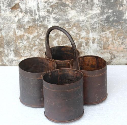 Iron four pot
