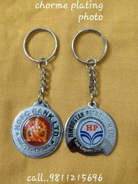 Chrome Plating Photo Keychains