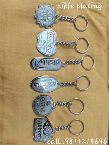 Nikle Plating Keychains