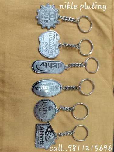 Nikle Plating Keychains