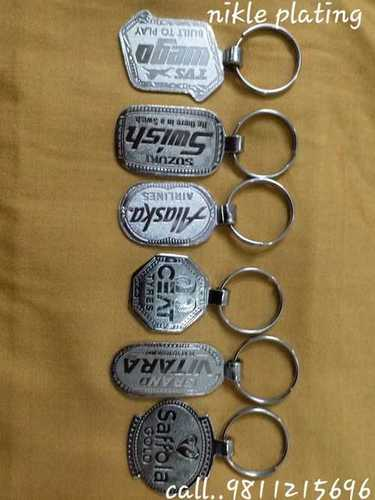 Nikle Plating Key Chains