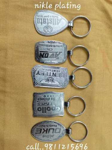Nikle Plating Key Rings