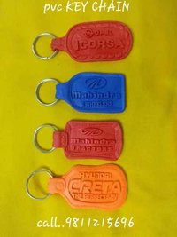 Multicolor Promotional Leather Keychains