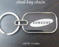 Steel Promotional Keychains
