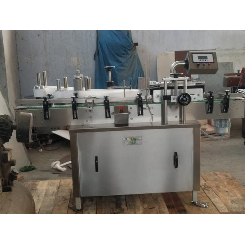 Automatic Vial Labelling Machine
