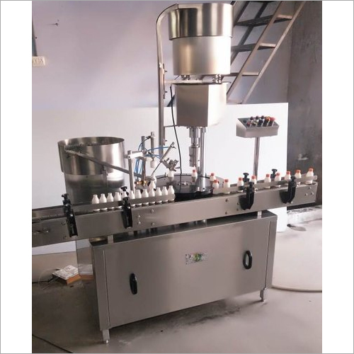 Automatic Inner Plug and Outer Cap Sealing Machine
