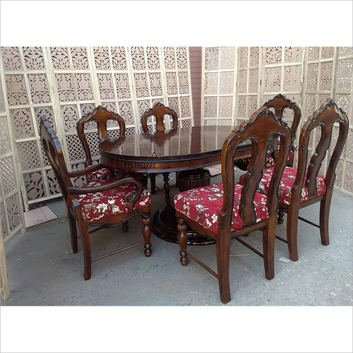 6 Seater Dining Table Set