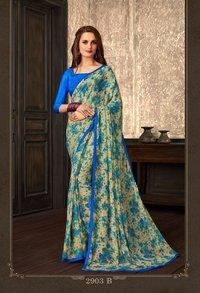 casual wear saree