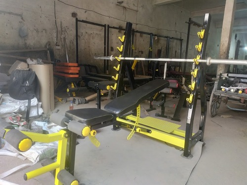 Olympic Multi Bench With Leg Curl & Extension