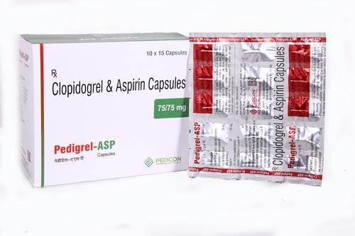 Clopidogrel 75 + Aspirin 75