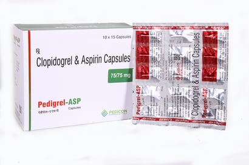 Clopidogrel 75 + Aspirin 75 Certifications: Coa Repoert
