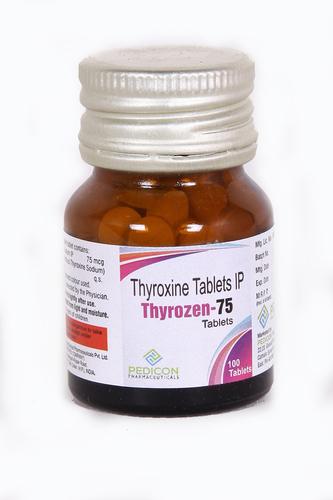thyroxine 75mg