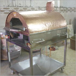 Wood and Gas Fired Pizza Oven