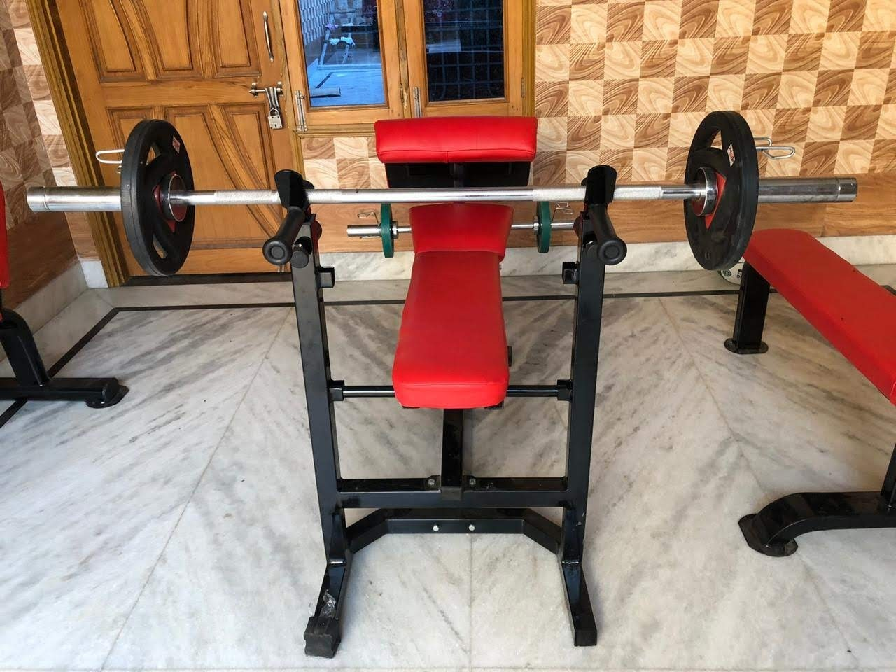 Multi Bench With Preacher Bench